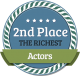 2nd Richest Actor