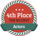 4th Richest Actor
