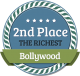 2nd Richest Bollywood Celebrity