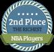 2nd Richest NBA Player