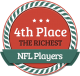 4th Richest NFL Player