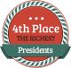 4th Richest President