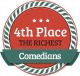 4th Richest Comedian