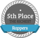 5th Richest Rapper
