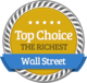 High Position of Wealth in Richest Wall Street Bankers