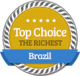 High Position of Wealth in Brazil