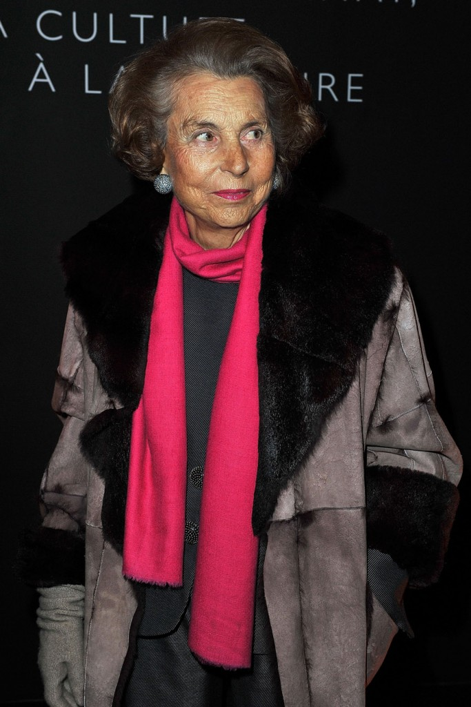 What is Liliane Bettencourt's net worth?