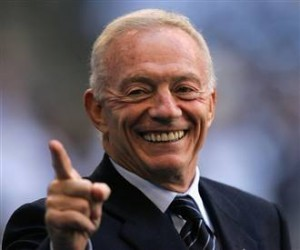 How much money is Jerry Jones worth?