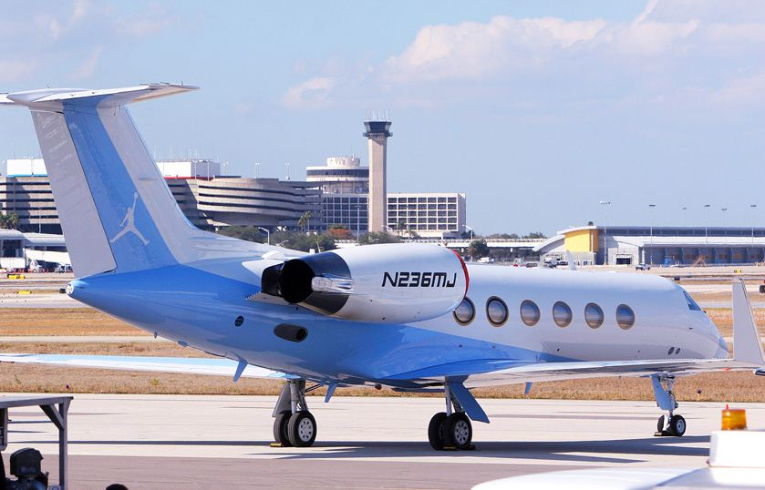 Michael Jordan's Gulfstream IV Jet