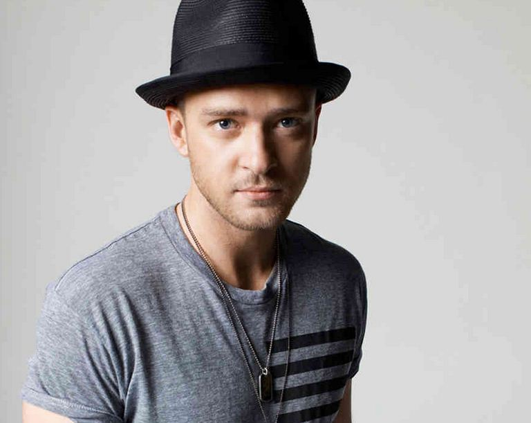 Justin Timberlake in a hat