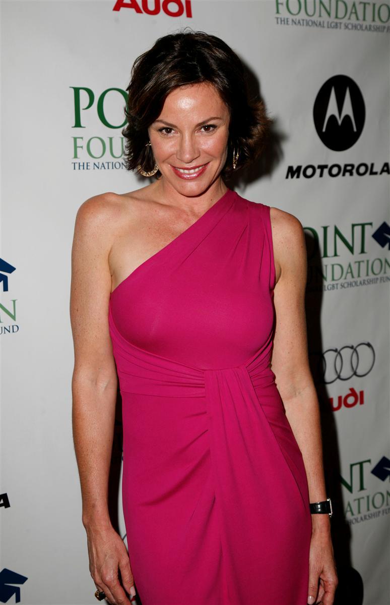 LuAnn de Lesseps pink dress