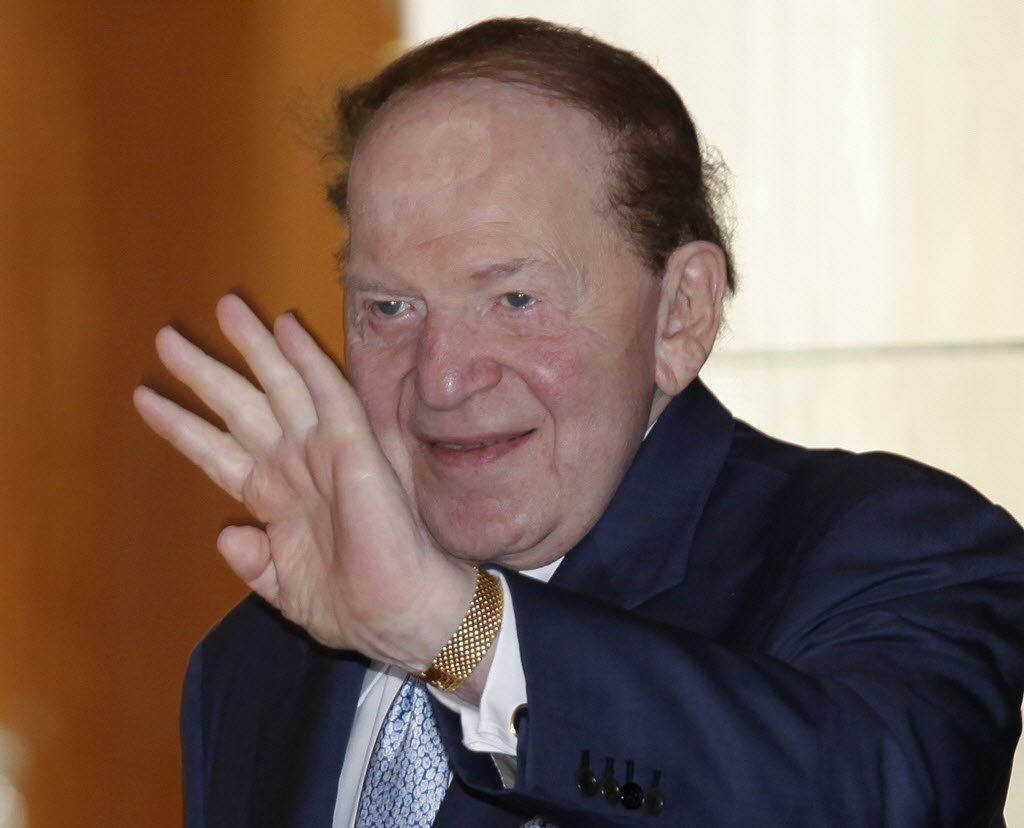 What is Sheldon Adelson's net worth?