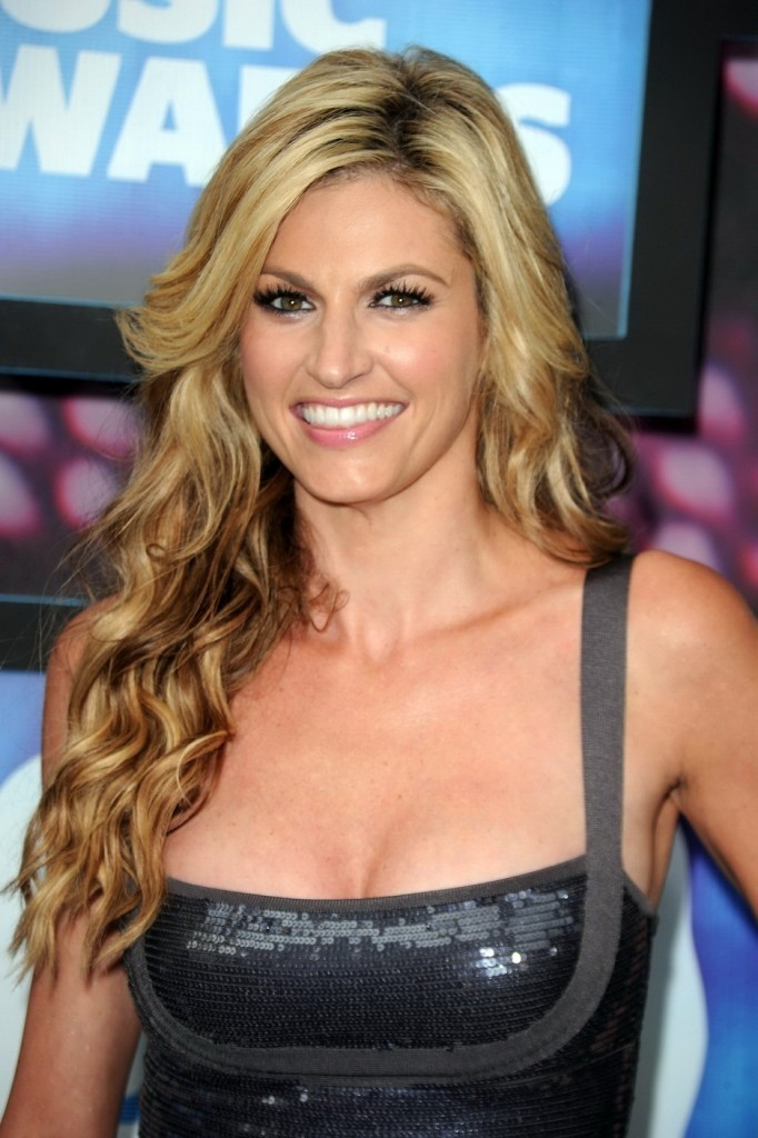 Erin Andrews Black Dress