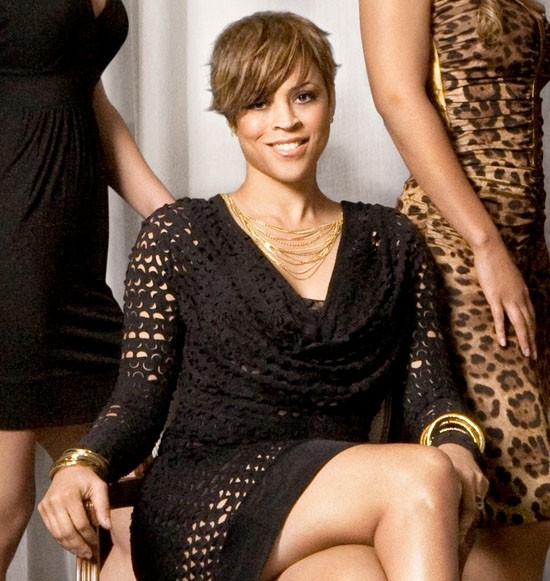 Shaunie ONeal black dress