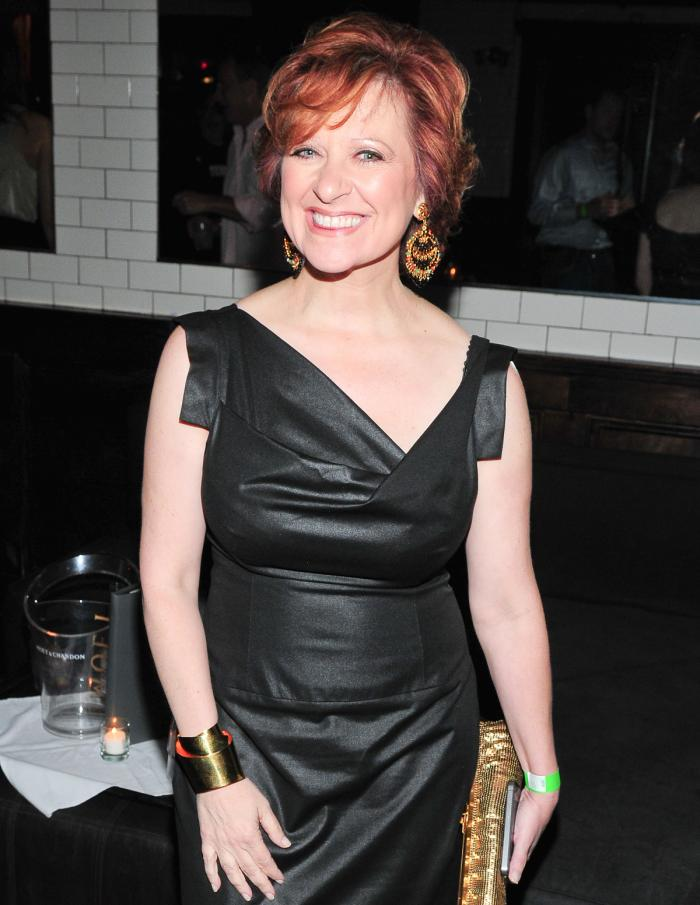 Caroline Manzo black dress