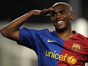 How much money doe Samuel Eto'o make?