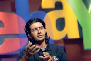 How much money is Pierre Omidyar worth?