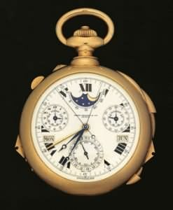 Henry Graves Supercomplication pocketwatch by Patek Philippe