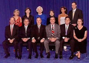 How much money is the Bush family worth?