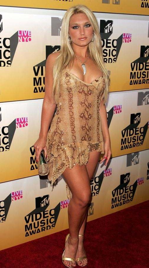 Brooke Hogan tight dress