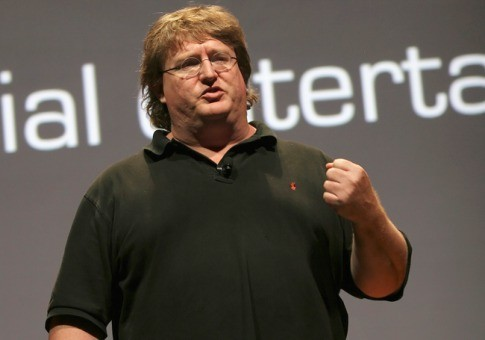 gabe newell Valve says new engine under development. No news on HL3