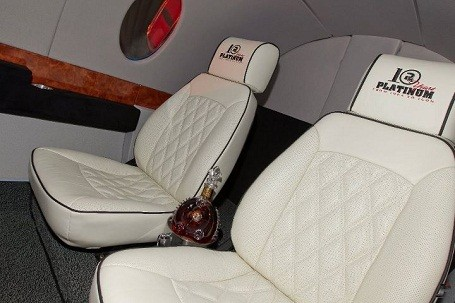 Seats in a Access Custom Jet