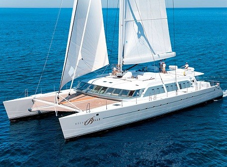 The Necker Belle catamaran
