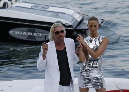 Richard Branson the super villan