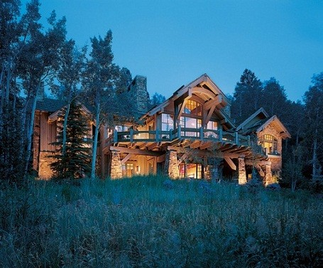 Camille Grammer's home in Avon, Colorado