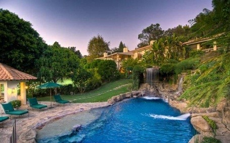 Mark Wahlberg's home in Beverly Hills