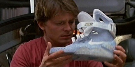 "Marty McFly's Nike Air Mags in ""Back to The Future II"""