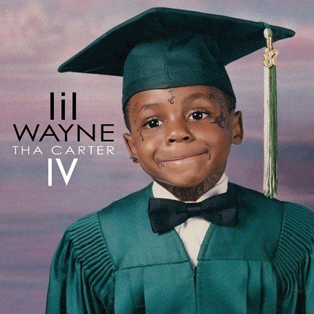 "LIl Wayne's ""Tha Carter 4"" Album Cover"