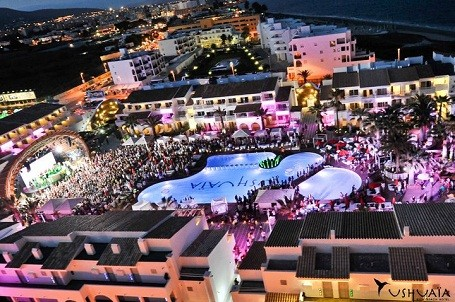 Ibiza Hotel on Ushuaia Beach Hotel In Ibiza  Spain