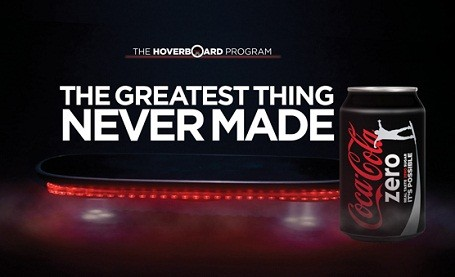 coke zero hoverboard program print ad 2