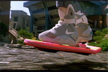 Hoverboard from &quot;Back to The Future II&quot;