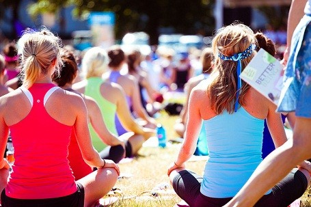 A lululemon event in Vancouver