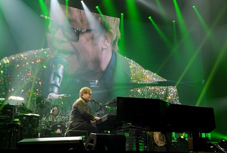 "Elton John's new show ""The Million Dollar Piano"""