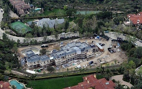 Tom Brady and Gisele Bundchen's $20 million mansion that's under construction in California