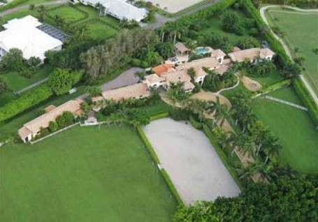 Bill Gates rental home in Wellington, Florida.