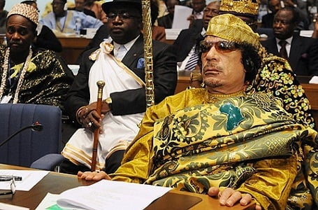 Muammar Gaddafi was the richest person in the world with a $200 billion net worth