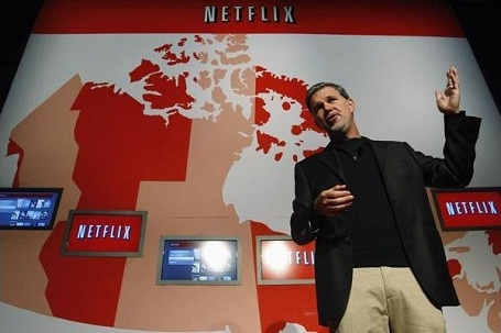 Netflix saw their stock drop from a high of $305 per share in July down to a low of $77 in October