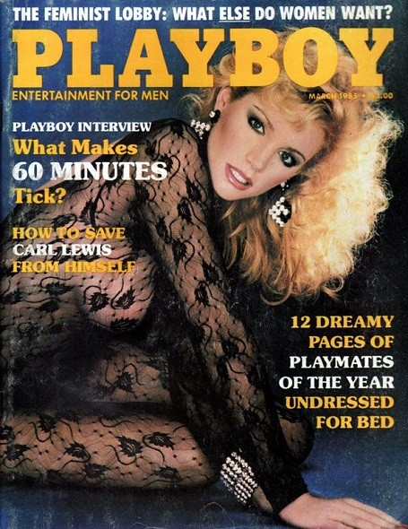 Shannon Tweed on the cover of Playboy Magazine