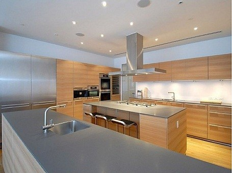 Will Smith's kitchen in his NYC condo while filming Men in Black 3