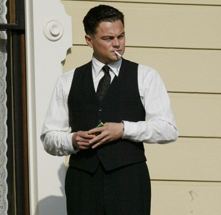 "Leonardo DiCaprio starring in Clint Eastwood's ""J. Edgar"""