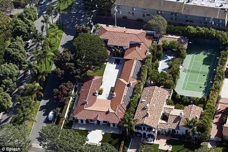 Matt Groening's new $11.7 million house in Santa Monica, California.