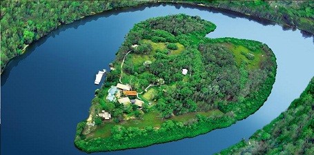 Richard Branson's Makepeace Island in Australia.