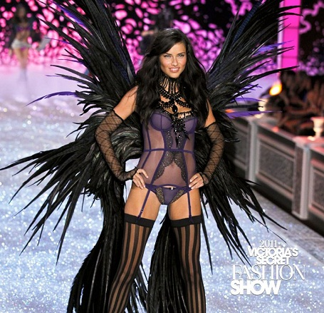 Adriana Lima, Victoria's Secret Angel.