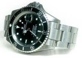 "Custom ""Buzzsaw"" Rolex Submariner James Bond watch for Project Dreamport."