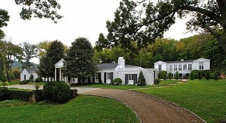 Entrance to Taylor Swift's home in Nashville, Tennessee. 