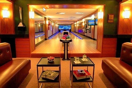 custom home bowling alleys by fusion bowling celebrity